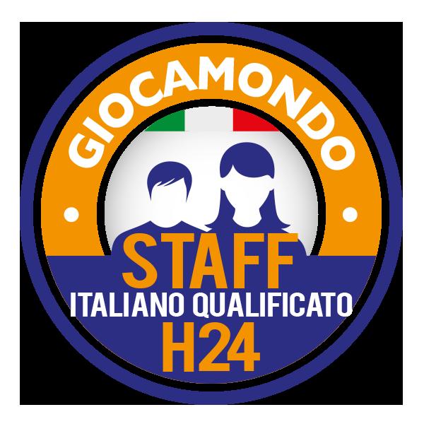 STAFF ITALIANO QUALIFICATO GIOCAMONDO H24