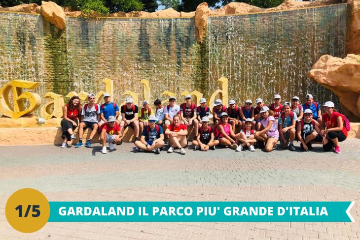 Il fantastico parco Gardalanduna intera giornata dove i ragazzi potranno divertirsi tra le numerose attività ed i tantissimi giochi