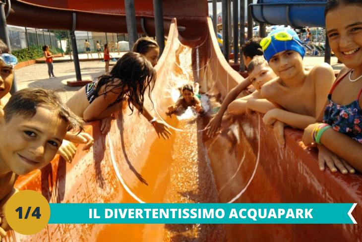 Il divertente Acquapark e Castel di Sangro, dove i piccoli ospiti avranno la possibilità di divertirsi per tutta la giornata con numerose attrazioni come scivoli toboga e la fantastica piscina ad onde riscaldata!