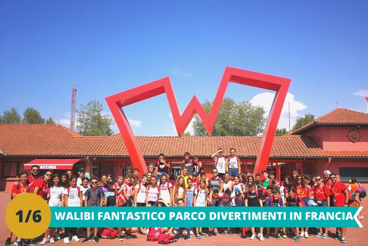 Il divertentissimo parco divertimenti Walibi in Francia, dove potrai sbizzarrirti tra le numerose attrazioni presenti nel parco per tutta ala giornata e guardare gli spettacoli organizzati