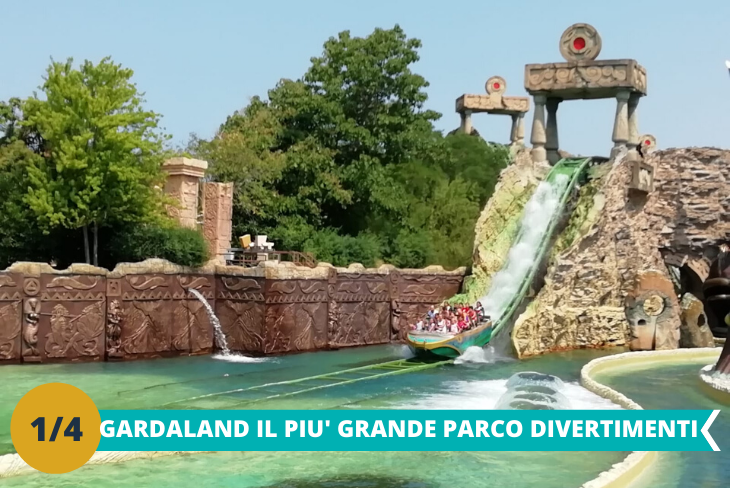 Il fantastico parco Gardalanduna intera giornata dove i bambini potranno divertirsi tra le numerose attività ed i tantissimi giochi