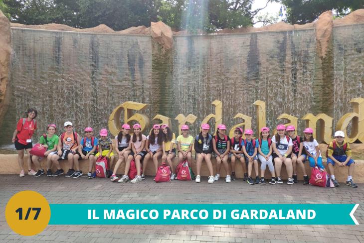 Il fantastico parco Gardaland dove i bambini potranno divertirsi tra le numerose attività ed i tantissimi giochi