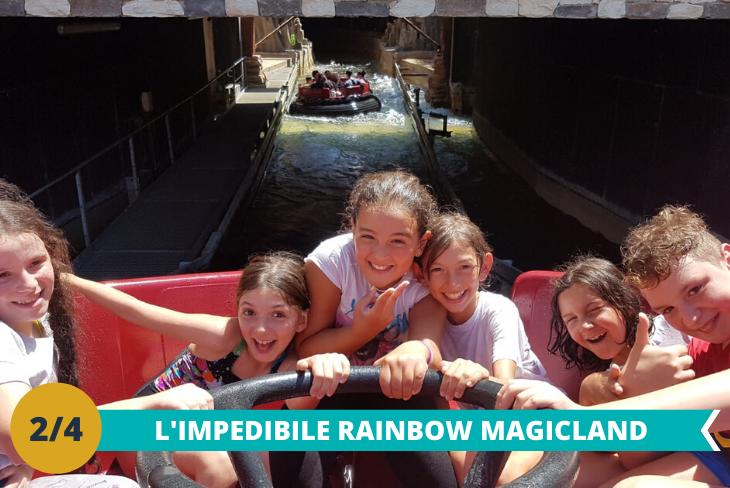 Il fantastico parco Rainbow MagicLanduna intera giornata che vi permetterà di vivere un'intera giornata all'insegna del divertimento spensierato tra le mille attrazioni