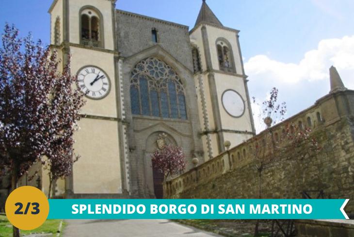 Escursione al borgo di San Martino al Cimino, passeggiata lungo le vie del borgo