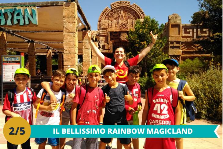 Il fantastico parco Rainbow MagicLand una intera giornatache vi permetterà di vivere un'intera giornata all'insegna del divertimento spensierato tra le mille attrazioni.