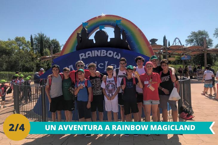 Il fantastico parco Rainbow MagicLand una intera giornatache vi permetterà di vivere un'intera giornata all'insegna del divertimento spensierato tra le mille attrazioni