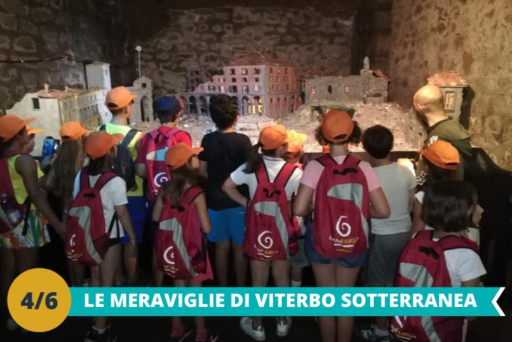 Viterbo la città sotterranea ed il Museo Etrusco: visita alla meravigliosa città sotterranea, un autentico labirinto fatto di passaggi segreti che collegano l'intera città ed il Museo Etrusco