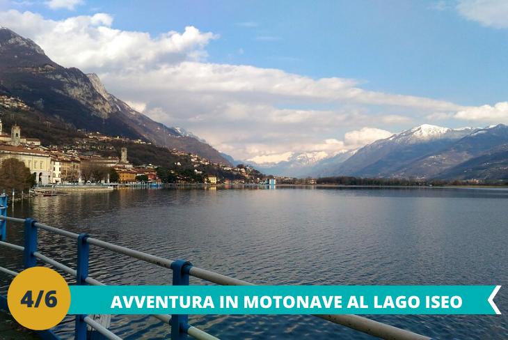 Lago di Iseo e Val Camonica, una intera giornata dedicata alla visita del lago di Iseo a bordo della motonave e alla scoperta delle antichissime incisioni rupestri, patrimonio UNESCO dal 1979