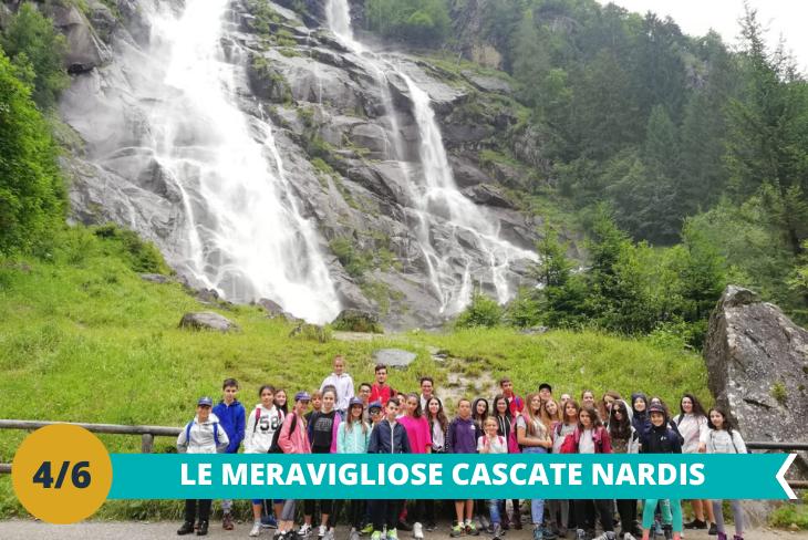 Le Cascate Nardis:tra le più spettacolari delle Dolomiti, situate nel Parco Naturale Adamello Brenta dove entusiasmarsi per la vista mozzafiato