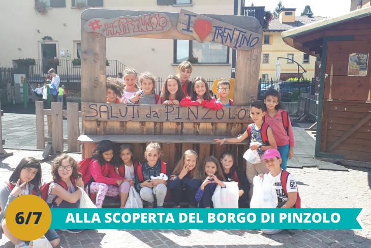 Visita al borgo di Pinzolo, passeggiata tra le vie della città