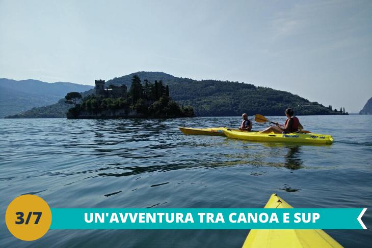 Canoa e Sup presso il meraviglioso lago di Bracciano, seguiti da staff qualificato e in tutta sicurezza per una giornata di puro divertimento