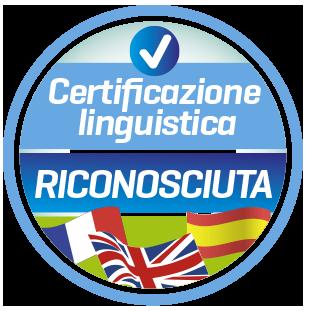 CERTIFICAZIONE LINGUISTICA RICONOSCIUTA