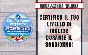 Certificazione MIUR - Vetrina 2020