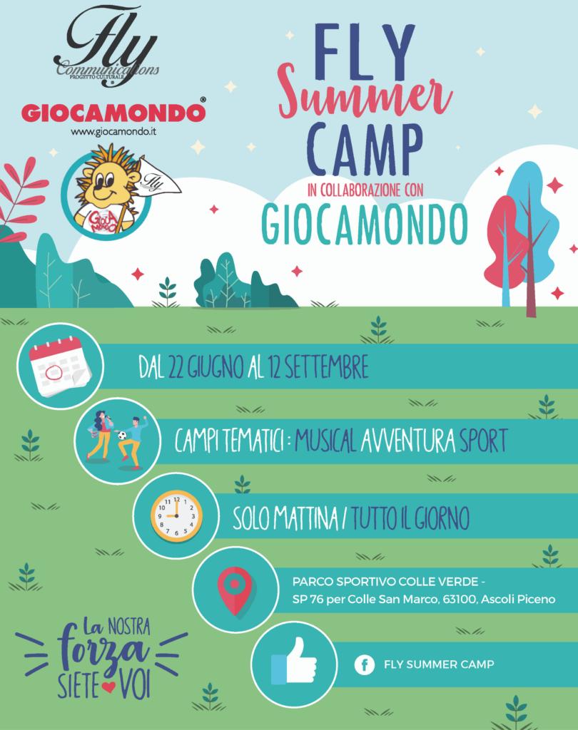 Nasce il Fly Summer Camp in collaborazione con Giocamondo! --Locandina-Fly-Summer-Camp-810x1024