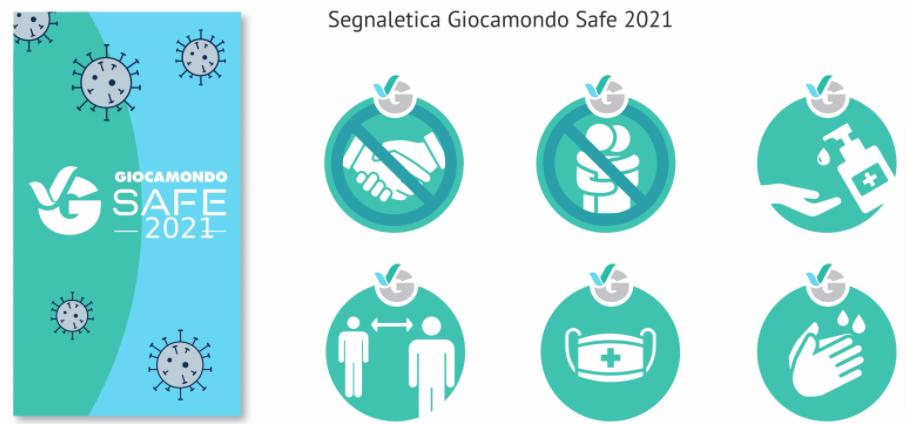 Segnaletica Giocamondo Safe 2021