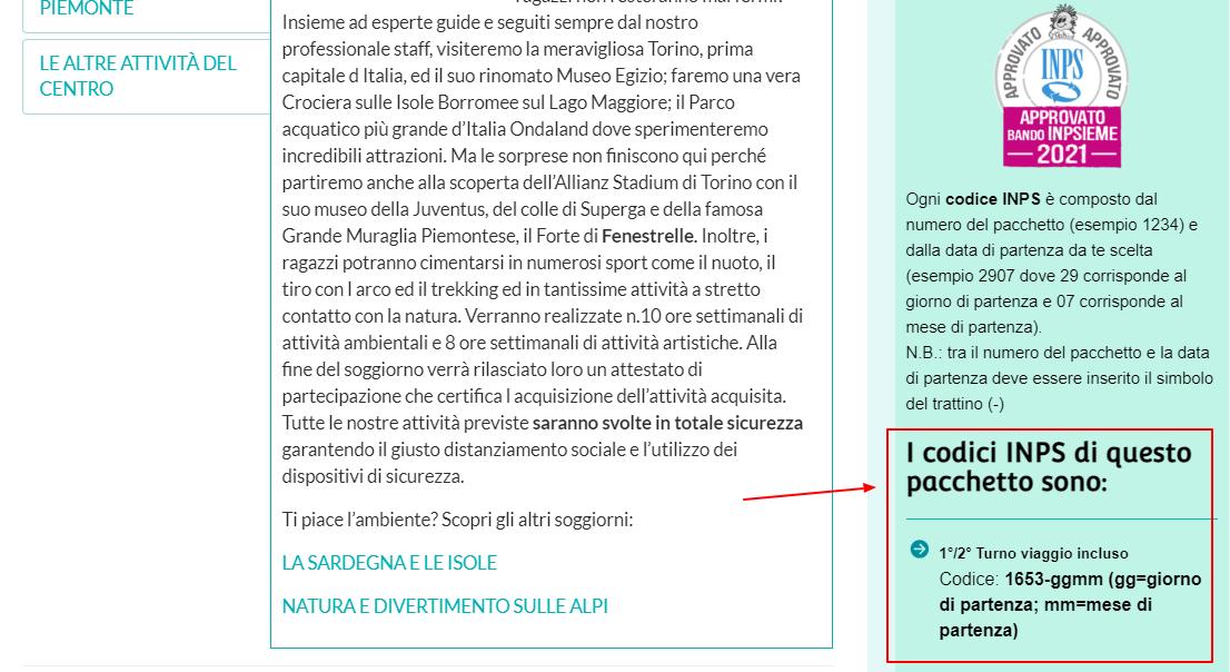 Estate INPSieme 2020 / 2021 destinazioni Italia | La Mia Estate-download