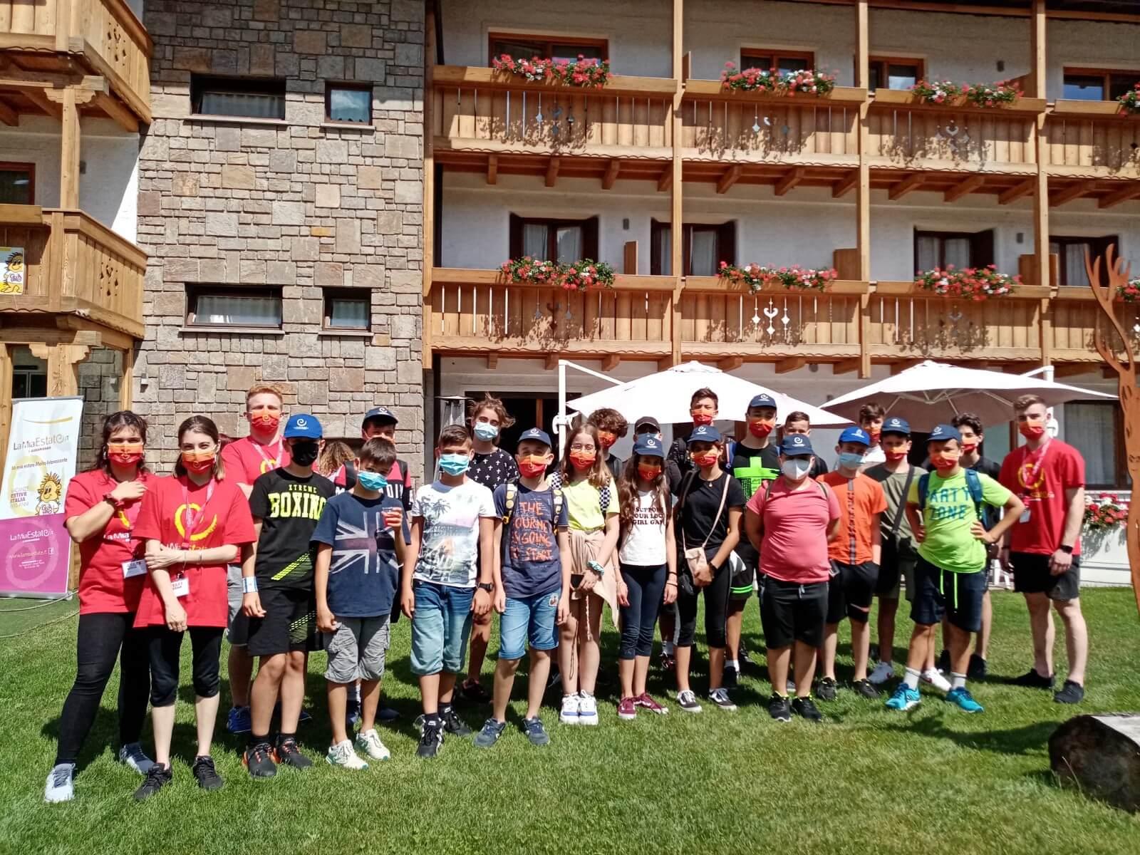 Hotel Olympic Regina 3*** // Summer English Camp // Senior Archivi --foto-gruppo-4-2